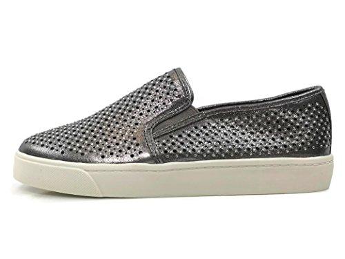 Frisdrank Dames Slip Op Sneakers - Gesloten Teen Van Tin