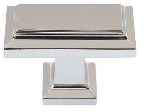 Atlas Homewares 290-PN 1-1/2-Inch Sutton Rectangle Knob, Polished - Place Appliance Sutton Pull