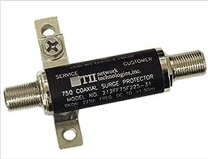 TII 212 Broadband Cable TV Lightning Surge Protector