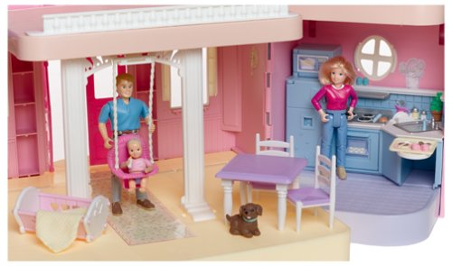 Fisher Price LOVING FAMILY Classic Dollhouse: Amazon.co.uk: Toys & Games