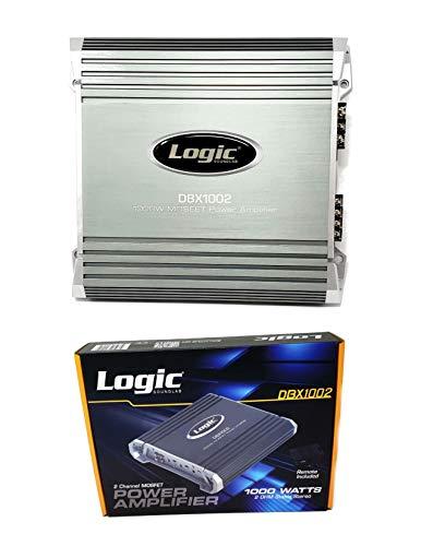 2 Channel Mosfet Power Amplifier 1000W 2 ohm Car Audio Amp DBX1002
