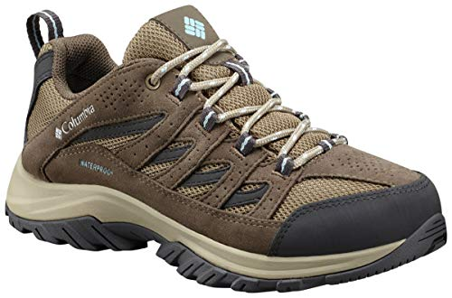 Columbia Mens Crestwood Waterproof Wide Hiking Boot, Breathable, High-Traction Grip