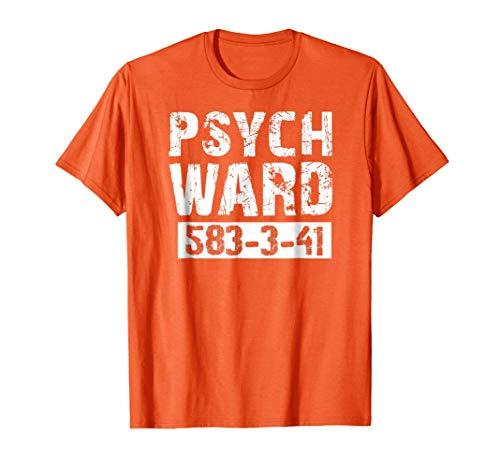 (Halloween Psych Ward Costume Shirt Kids, Men,)