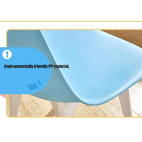 Matstol delikat stol enkel student skrivbord och stol makeup dator pall hemma stabil (färg: Brun)