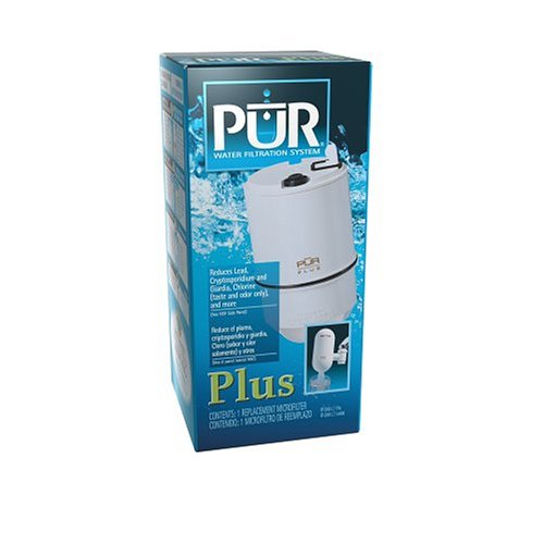 Pur Single Replacement Filter for Pur Plus Faucet-Mount Filtering Unit by Pur