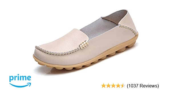 fa605b6e80939 Amazon.com | VenusCelia Women's Natural Comfort Walking Flat Loafer |  Loafers & Slip-Ons