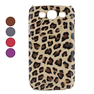 Leopard Print Hard Case for Samsung Galaxy S3 I9300 (Assorted Colors) --- COLOR:Red