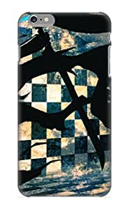 Awesome Design Anime Black Rock Shooter Hard Case Cover For Iphone 6 Plus(gift For Lovers)