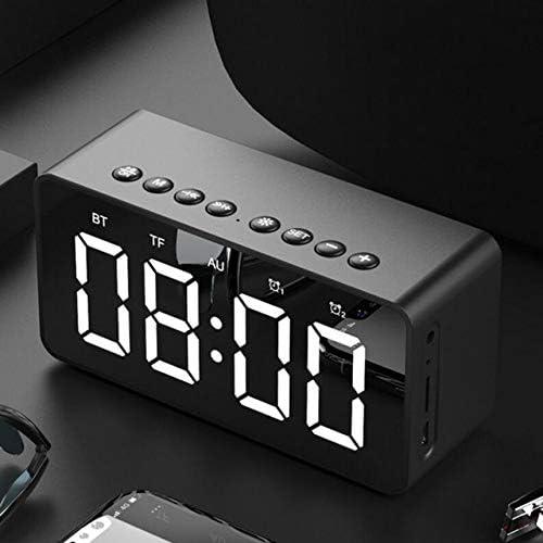 JKONG Reloj Despertador Bluetooth portátil Multifuncional Altavoz ...