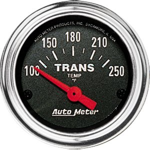 Autometer 2552 2'' TRANS TEMP, 100-250`F SSE by Auto Meter