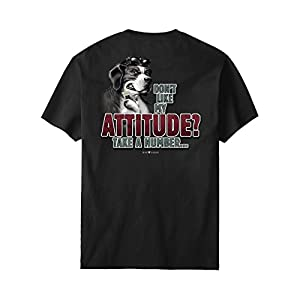 Big Dogs Attitude Take A Number T-Shirt 4X Charcoal Heather