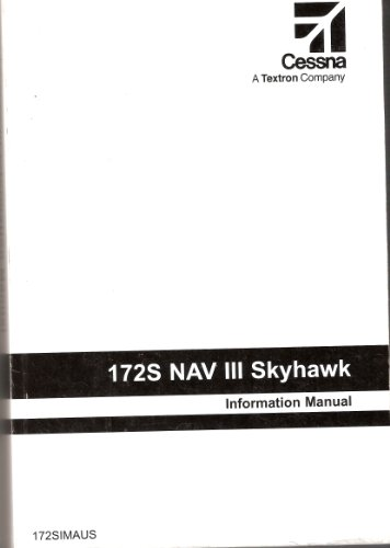 172S NAV III Skyhawk Information Manual