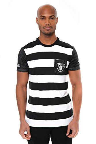 Oakland raiders tee shirt raiders tee shirt raiders tee for Chucky long sleeve striped shirt