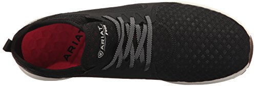 Ariat Mens Fuse Scarpa Da Ginnastica, Ferro Forgiato, 10 D Us Black