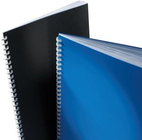 200 mic. Deckblätter GBC PolyClearView 100 Transparente aus Polypropylen