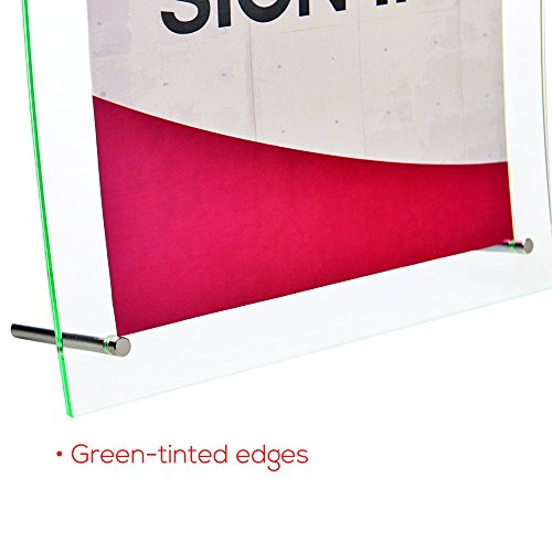 Deflecto Superior Image Curved Sign Holder, 8.5 x 11 Inches (799783) Photo #8