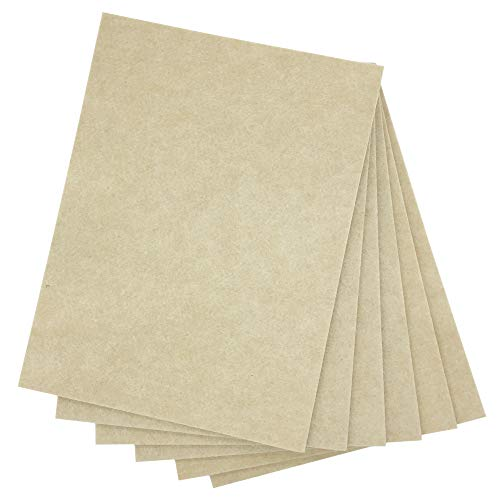 (BXI Sound Absorber - Acoustic Absorption Panel - Polyester Fiber - Multiple Color Options - 16'' X 12'' X 3/8'' - 6 PACK (Light Coffee))