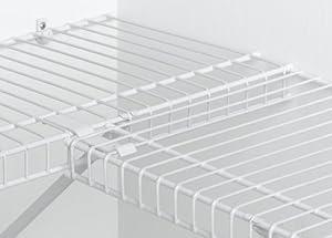 Amazon Com Closetmaid 1001 Corner Support White