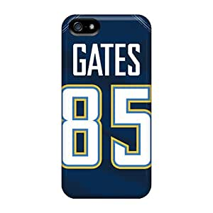 Protective Tpu Case With Fashion Design For Iphone 5/5s (san Diego Chargers)