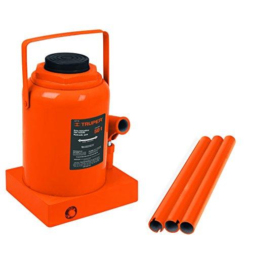 - TRUPER GAT-50 50-Ton Hydraulic Bottle Jacks 18 7/8