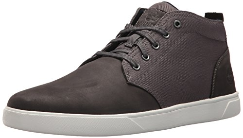 Timberland Men's Groveton LTT Chukka L/F, Dark Grey, 8.5 Medium US -