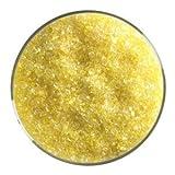 5 Oz Canary Yellow Transparent Medium Frit - 90 Coe