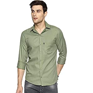 LEVIZO Men's Regular Fit Casual Shirt