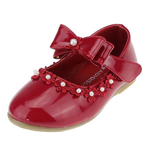 Cixi Maxu E-Commerce.Co.Ltd Maxu Kid Girl PU Dress Shoe Hook