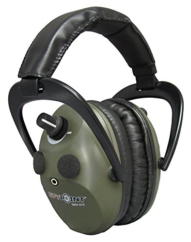 SPYPOINT EEM4-24-G Spy Pt, Electronic Em 4-24 Muffs, Green Army by SPYPOINT