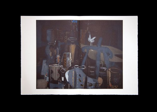 (Georges Braque (1882-1963) Lithograph | Double Lithograph | Atelier VI | Numbered Limited Edition n186; out of 350 | Signed in the matrix)