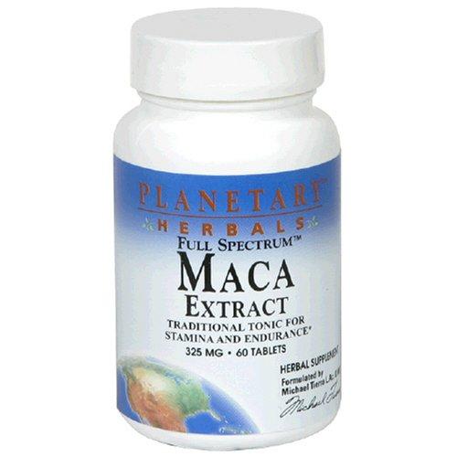 Planetary Herbals Full Spectrum extrait de maca, 325 mg, comprimés, 60 comprimés (lot de 2)