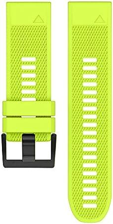 lzndeal Bracelet de montre Bande de montre en silicone souple pour Garmin Fenix 5X Fenix 3 Fenix 3 HR