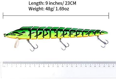 Jolicobo Señuelo de Pesca Artificial Duro 27CM 66g Wobbler ...