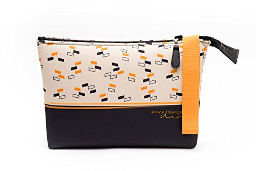 Pochette da giorno, borsa, borsetta in neoprene impermeabile (26x18x6cm) per donna e per uomo