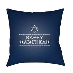 Surya feliz Hanukah II al aire libre almohada
