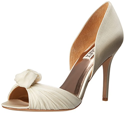 Badgley Musica Ivory Pump DOrsay Mischka Womens qrn6wP8xnY
