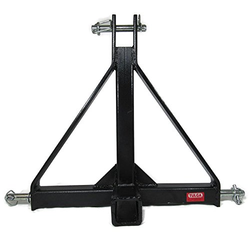 Used Tractor Draw Bars : Point quot receiver trailer hitch tow cat drawbar