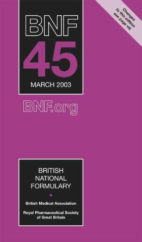 Download British National Formulary (BNF) 45 (Vol 45) pdf