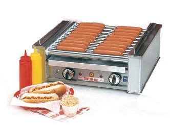Hot Dog 'Roll-A-Grill' Commercial Roller - 18 Hot Dog Capacity by KegWorks