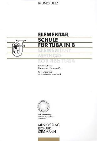 Richard Stegmann Verlag Elementarschule für Tuba in B