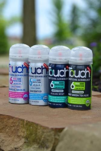 Touch Sanitizing Germblock 4-pak (Variety) ()