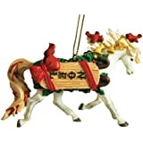 Westland Giftware Noel Ornament Arabian 2-1/4-Inch Resin Holiday Ornament Figurine
