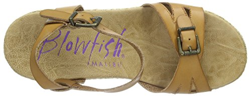 Blowfish Driveln - Sandalias Mujer Marrón - Braun (Desert sand/natural)