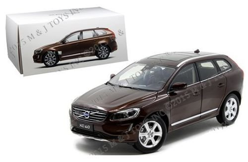 New 1:18 MOTOR CITY CLASSIC COLLECTION - BROWN 2015 VOLVO XC60 Diecast Model Car By Motor City Classics