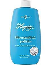Hagerty 10120 Silversmith's Silver Polish, 12 oz, Blue