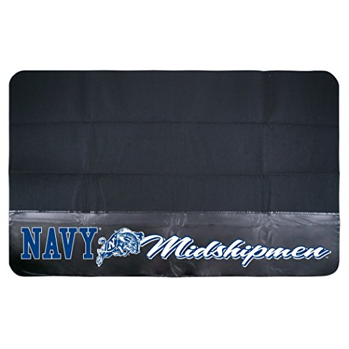 Navy BBQ Grill Mat, 30-Inch by 48-Inch