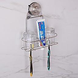 JinRou ontemporary Creative Fashion Bathroom Wall-mounted racks (Toothbrush holder)