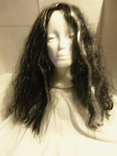 Black & Grey Witch Wig (Geany Costume)