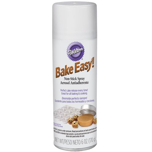 Wilton 2201-1431 6-Ounce Bake Easy Non-stick Spray