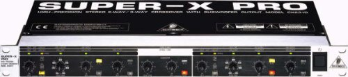 o CX2310 Professional High-Precision Stereo 2-Way/Mono 3-Way Crossover with Subwoofer Output ()